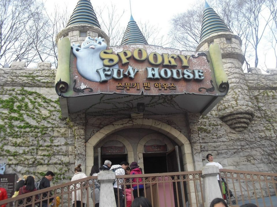 Spooky's Fun House, Magic Land, Everland, Korea