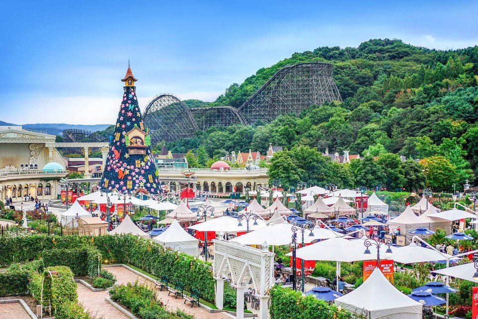 Everland theme park, Korea