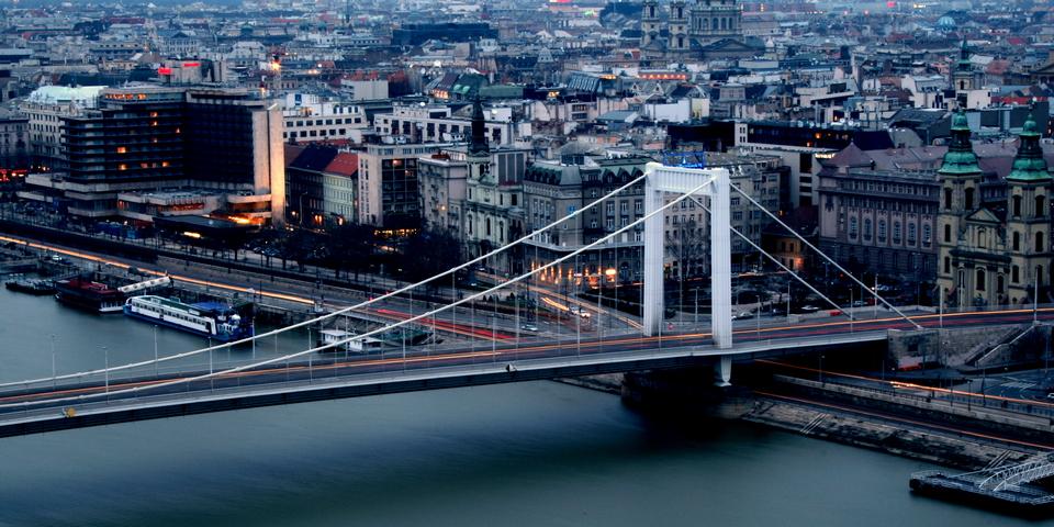 Elisabeth Bridge (Budapest travel blog