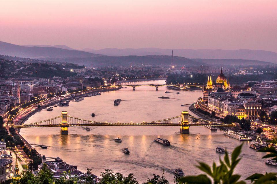 The Danube at dawn