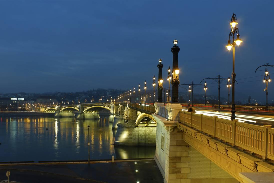 Margaret bridge,budapest travel blog