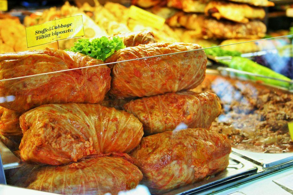 Hungarian stuffed cabbage (töltött káposzta)