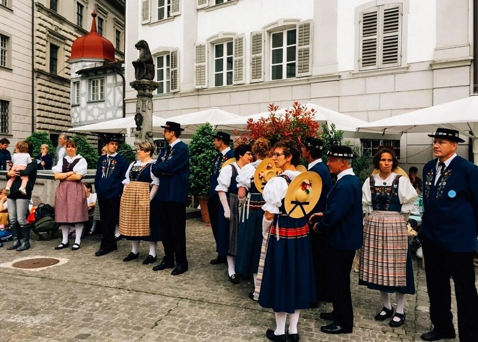 Festival in Lucerne