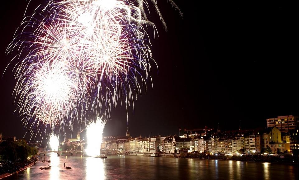 Swiss National Day firework