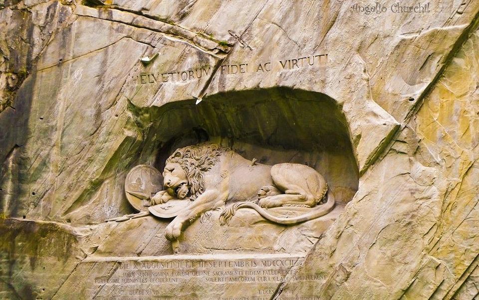 lucerne Lion Monument,lucerne travel blog (1)