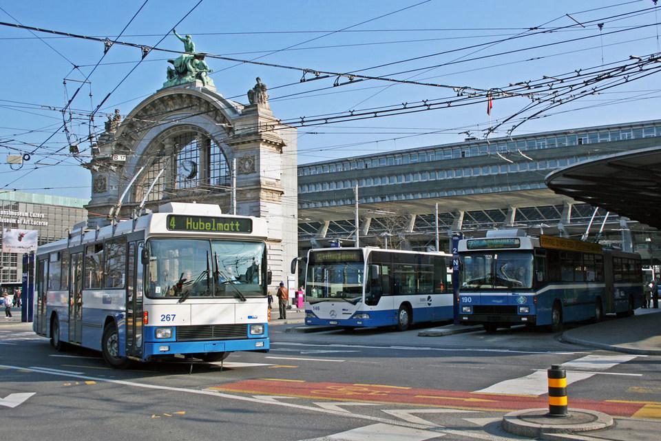 trolleybuses lucerne