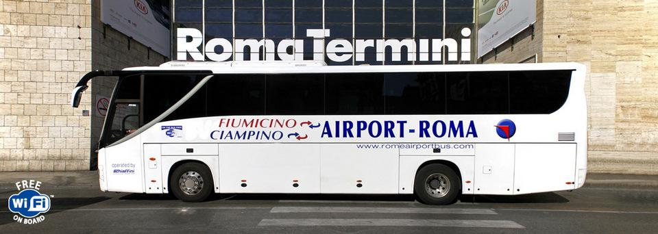 Ciampino Aiport to terini station