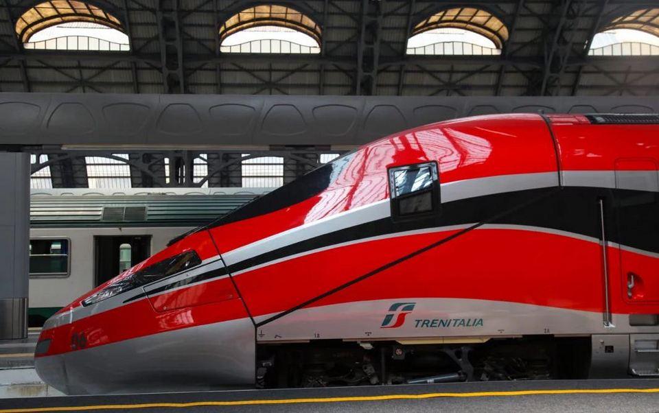Trenitalia Train in Italy