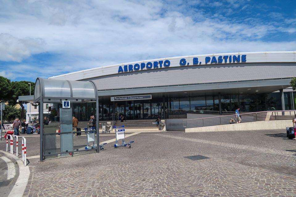 outside Ciampino Airport (CIA)