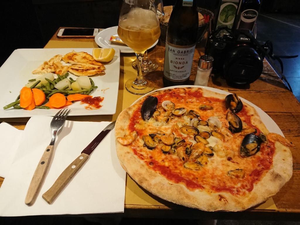 Berzitello pizza