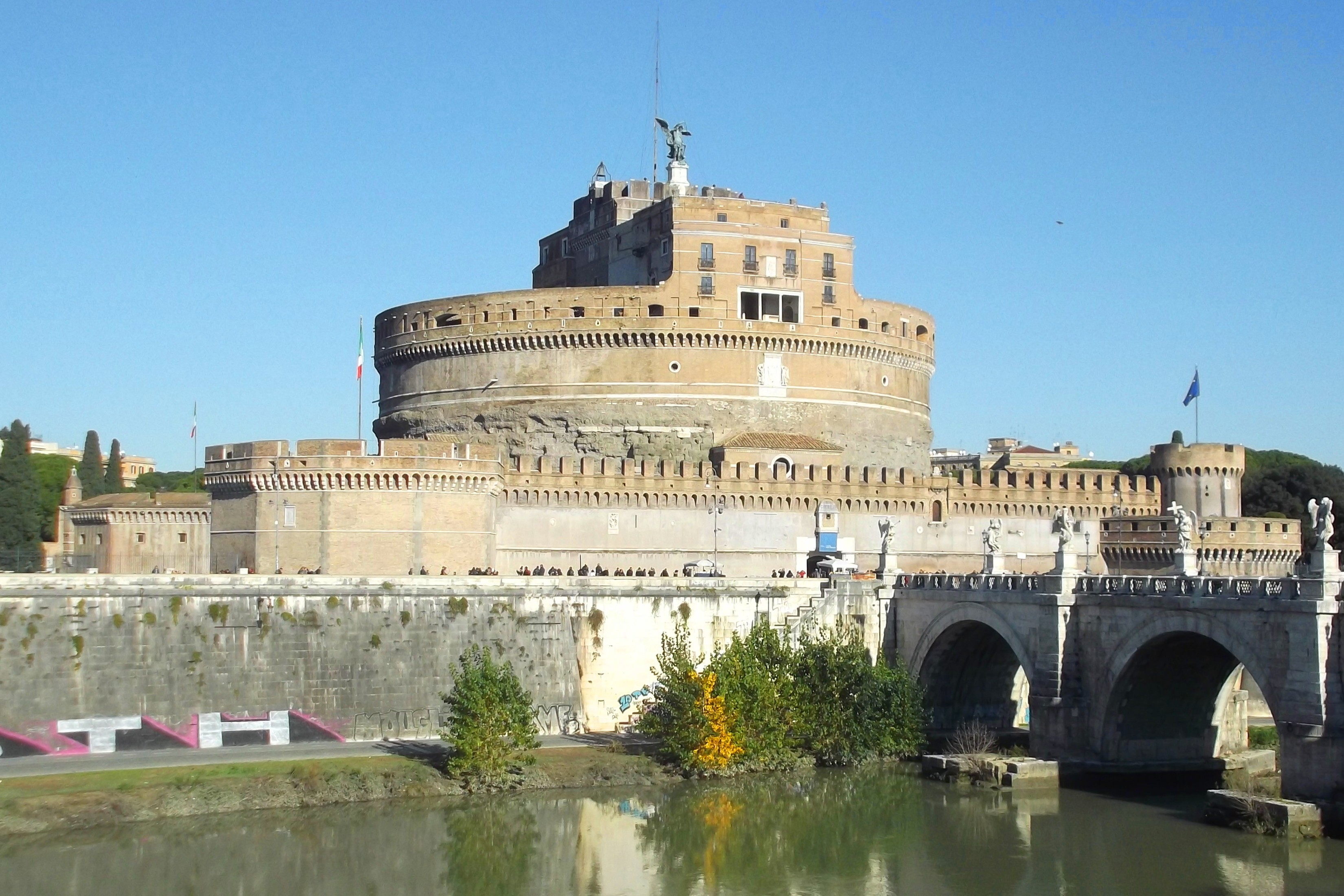 Castel Sant'Angelo rome travel blog (1)