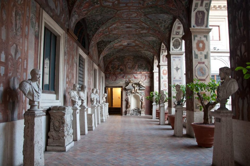 Palazzo Altemps museum rome travel blog