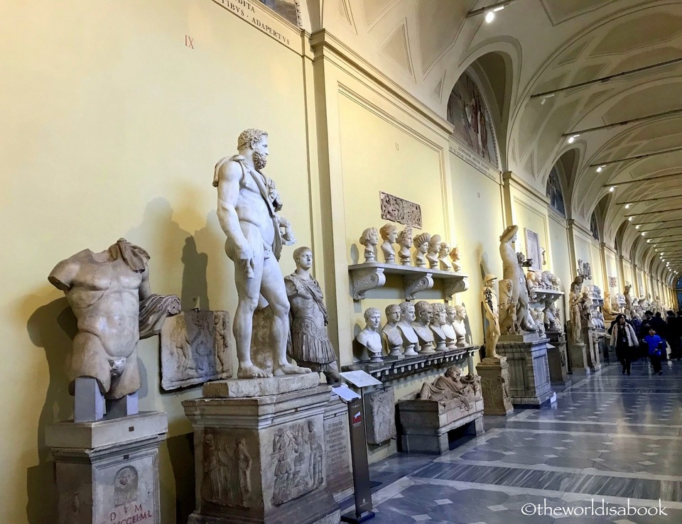 Vatican Museums Hall of Busts