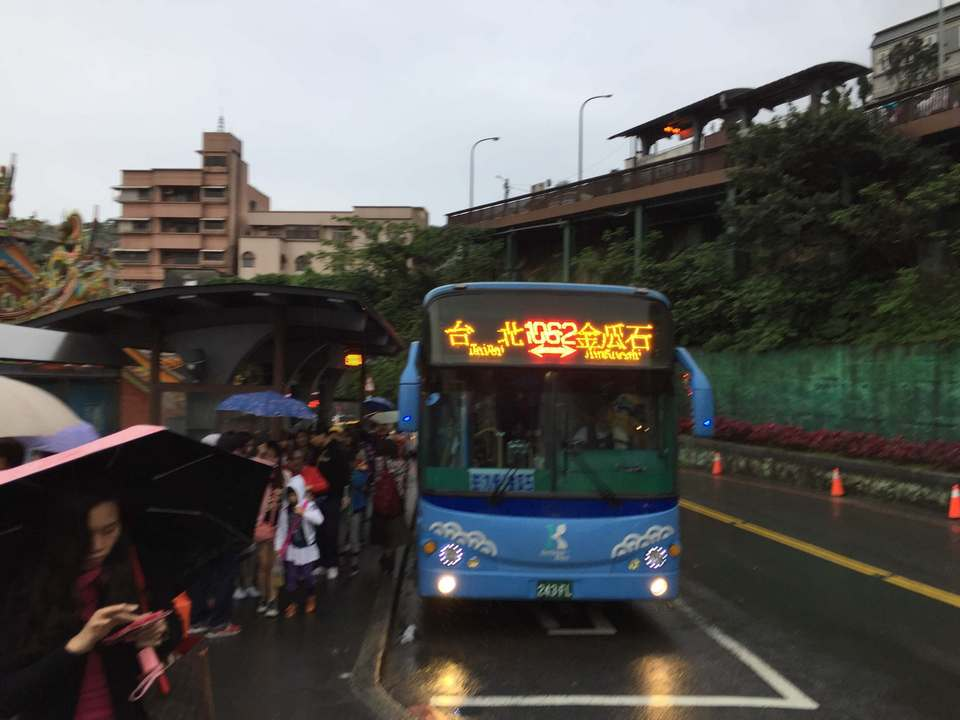 Keelung bus 1062 – drop off before 7-Eleven