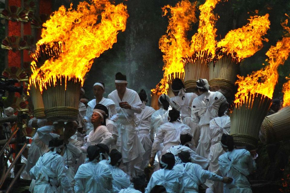 One of the most unique festivals in Japan.