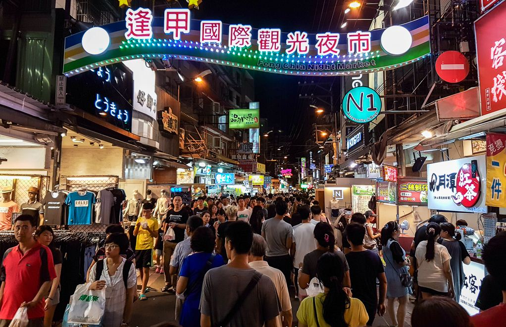 fengjia night market must eat,taichung fengjia night market,what to eat at fengjia night market