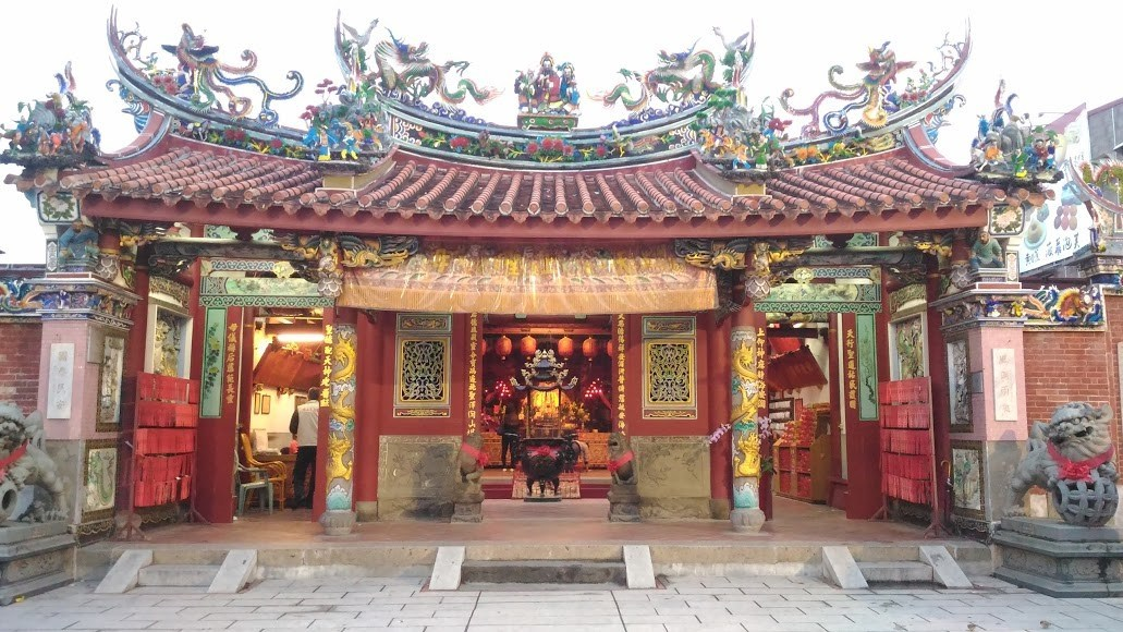 211Qishan Tianhou Temple,cishan old street,qishan kaohsiung,qishan old street (1)