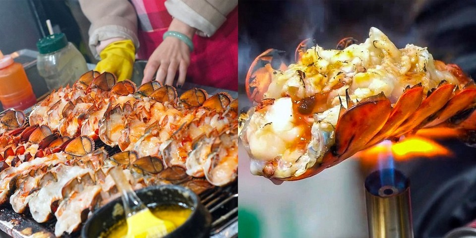 grilled lobster,myeongdong food blog,myeongdong food guide,myeongdong must eat,what to eat in myeongdong (1)