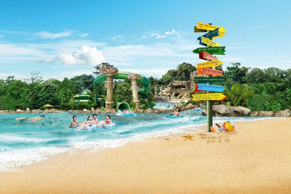 Adventure Cove Waterpark,sentosa blog,sentosa guide,sentosa island blog,sentosa island travel guide,sentosa travel guide (3)
