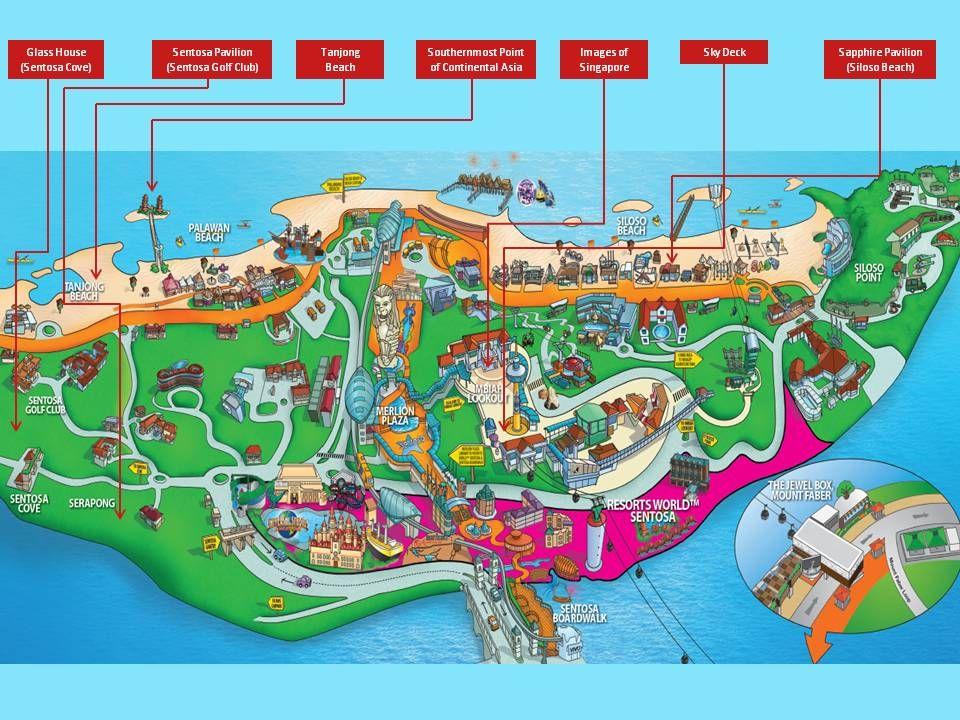 sentosa attractions map, sentosa blog,sentosa guide,sentosa island blog,sentosa island travel guide,sentosa travel guide
