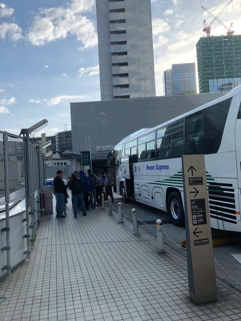 bus from shibuya to Mt.-Fuji-Lake-Kawaguchiko-Japan-11