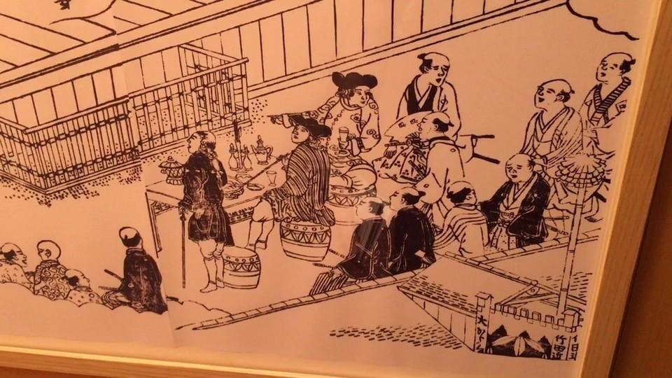 museum of Kamigata Ukiyoe,dotonbori blog (1)
