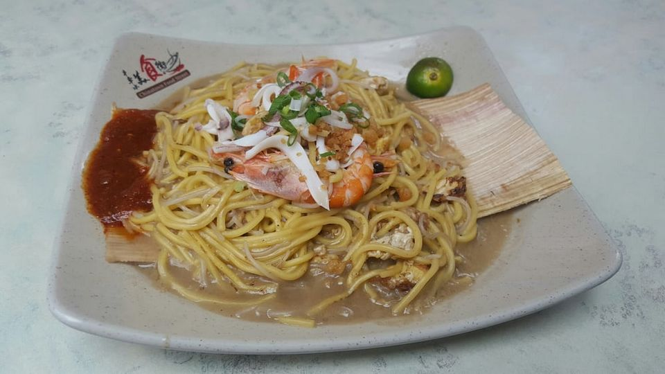 Hokkien Mee Fried Noodles at Chinatown Cheng Kee (2)
