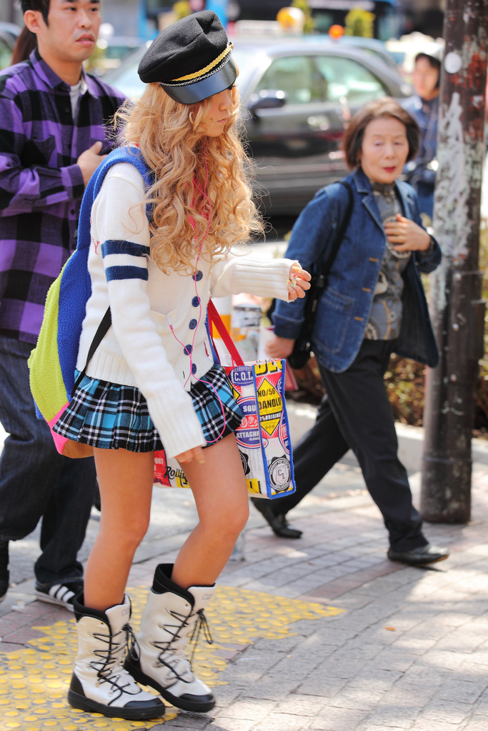Shibuya street fashion