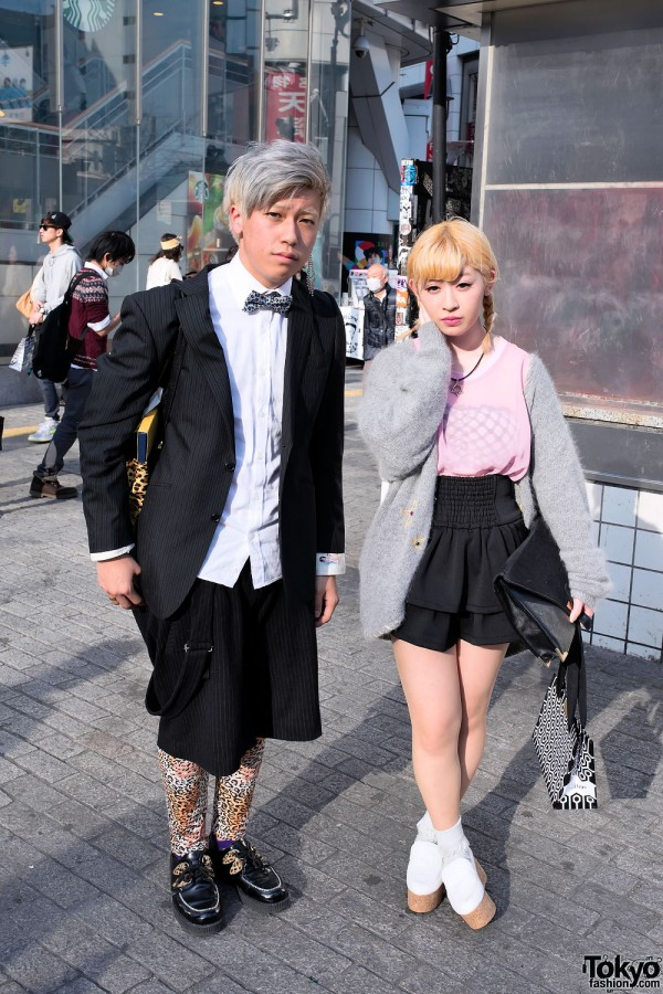 Shibuya street fashion