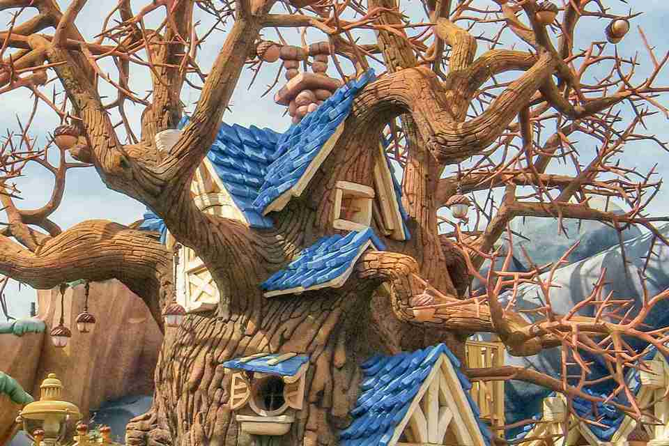 Chip 'n' Dale Treehouse in Toontown