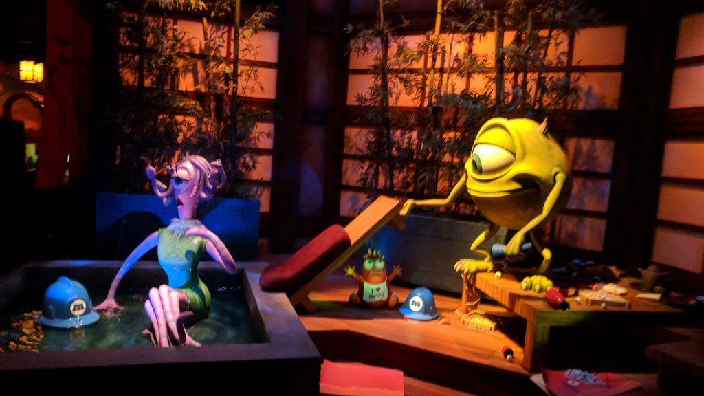 Monsters's Inc. Ride & Go Seek! The most favorite game at Tokyo Disneyland.