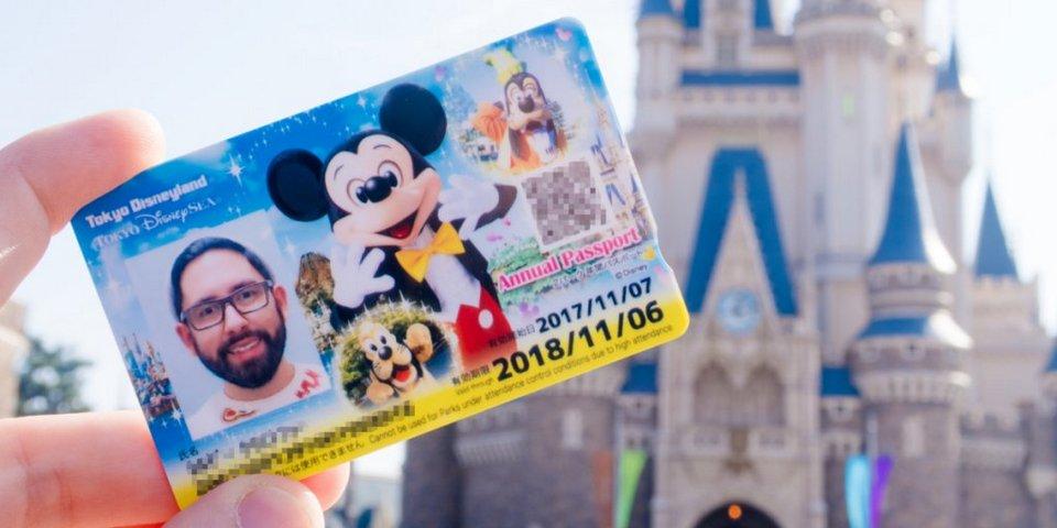 Tokyo Disney Resort Annual Passport