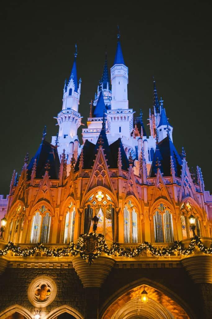 Tokyo Disneyland as true fairy when night comes.