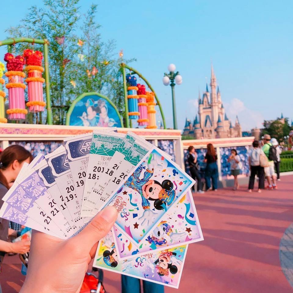 tokyo disney tickets