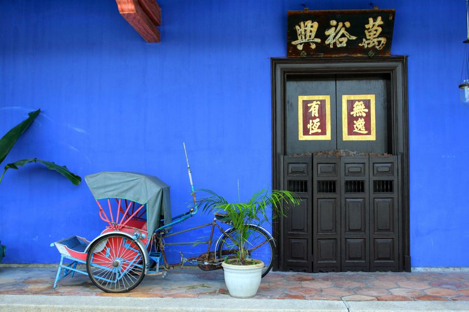 Cheong Fatt Tze is also known as The Blue Mansion