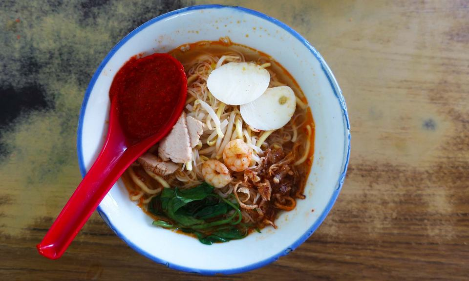 Decent Noodles at Kafe Ping Hooi