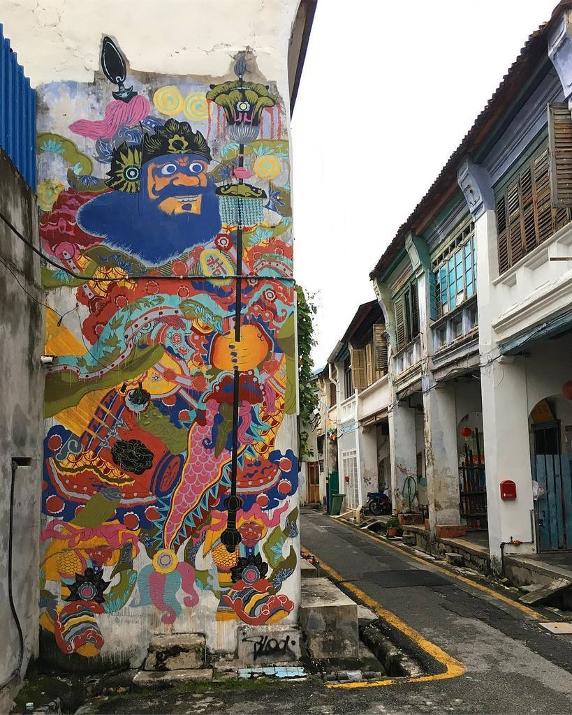 georgetown mural art,best places to visit in penang malaysia,must visit places in penang,must see places in penang,penang best place to visit (1)