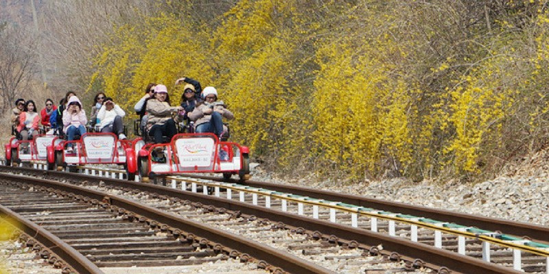 Gangchon rail bike (1)