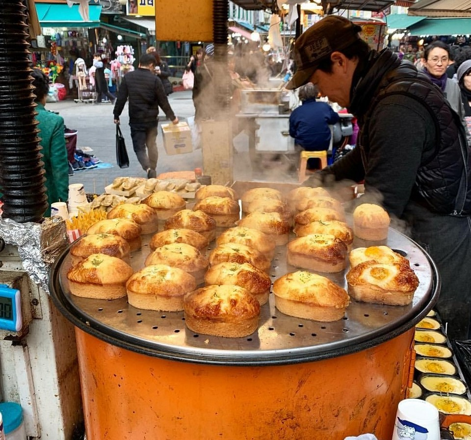 Namdaemun Market korean street food (1)