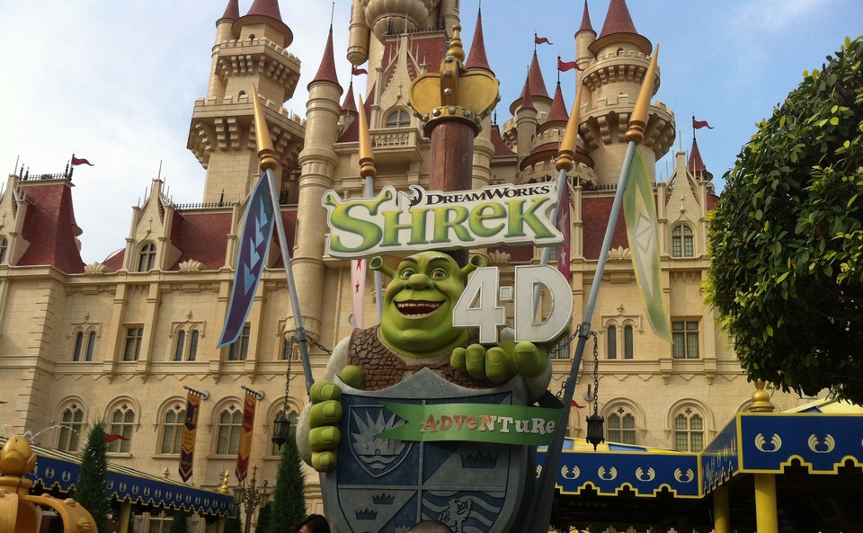 Shrek 4D Adventure,best rides in universal studios singapore,must try rides in universal studios singapore (1)