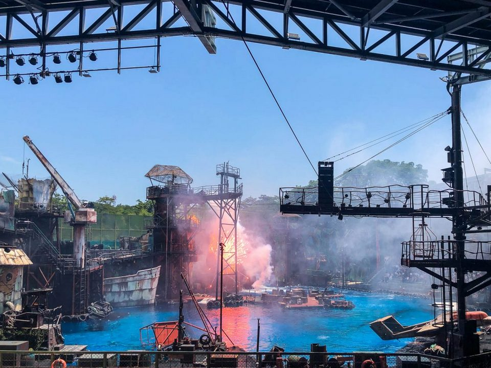 WaterWorld,best rides in universal studios singapore,must try rides in universal studios singapore (2)