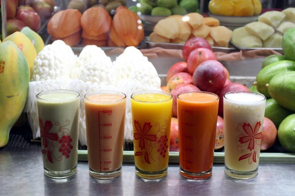 Papaya Milk Smoothie (Taiwanese Style) (1)