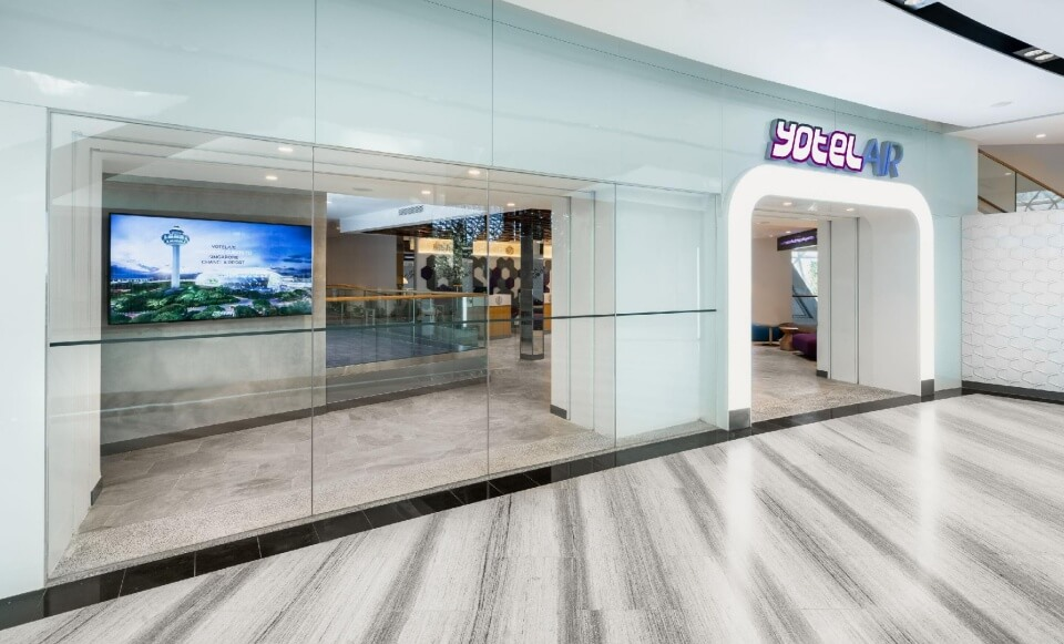 Jewel Changi  yotel jewel changi airport
