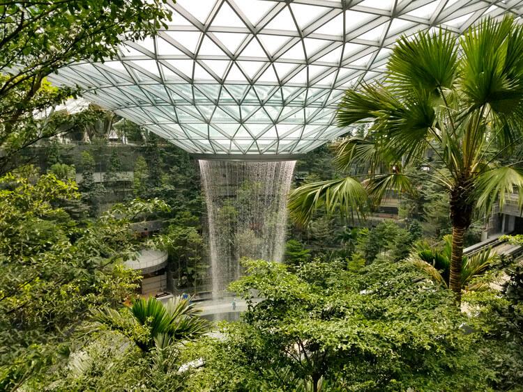 Jewel Changi  rain vortex changi airport