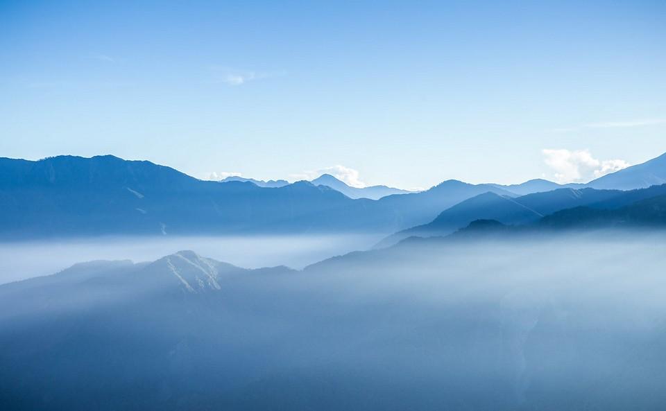 Zhu Shan peak alishan autumn