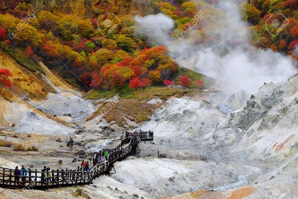 Noboribetsu Onsen autumn (1)