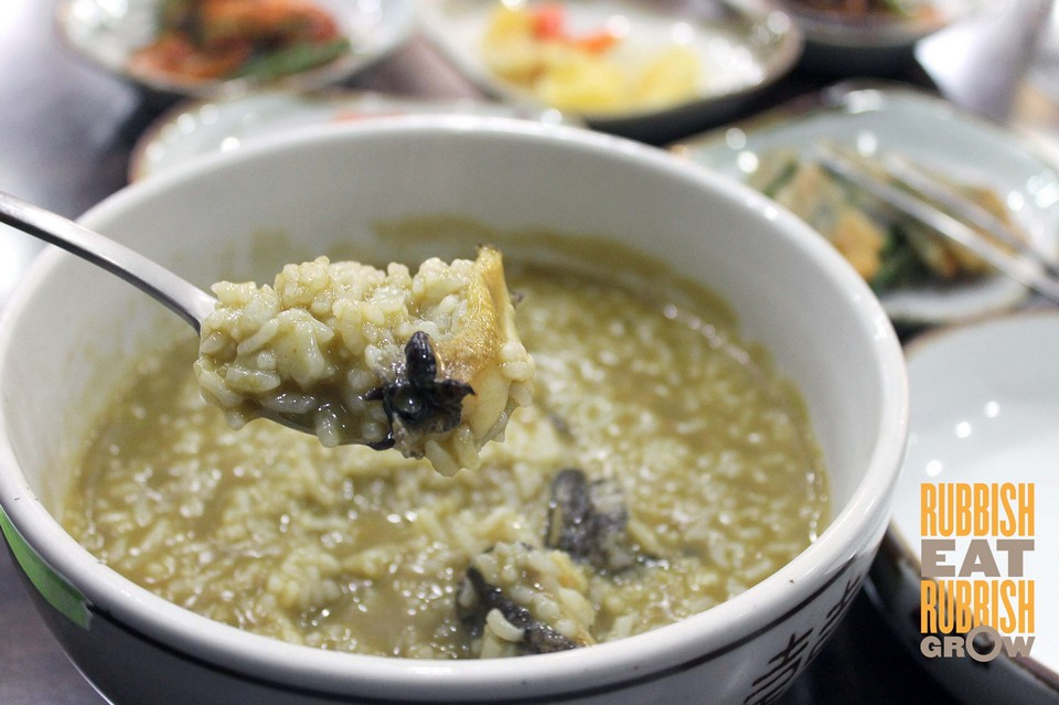 Jeonbok juk (abalone porridge) jeju (1)