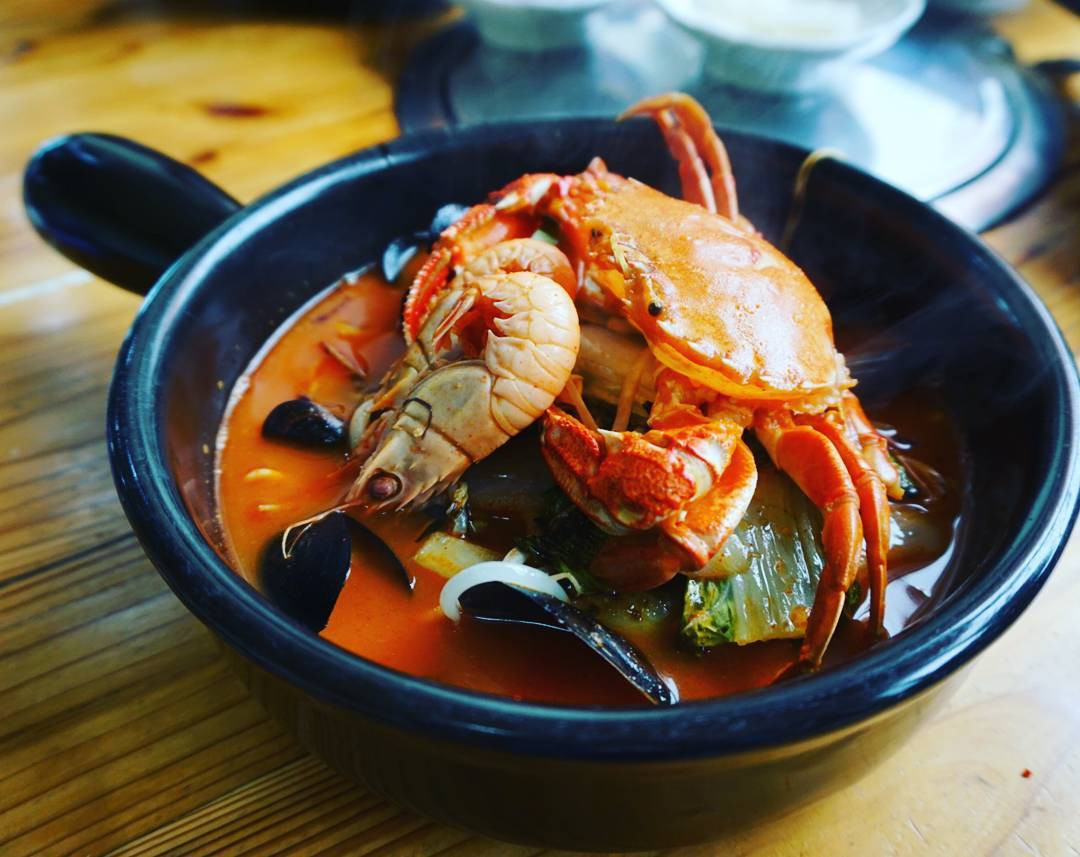 Jjamppong (Korean Spicy Seafood Noodle Soup) (1)