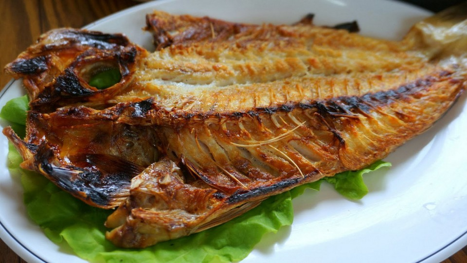 Okdom Gui (Grilled Red Tile Fish) (1)