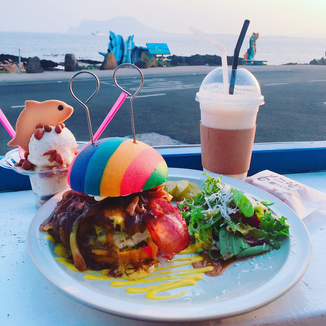 Rainbow Hamburger (1)